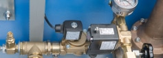 Pressure relief encapsulation system with solenoid valve