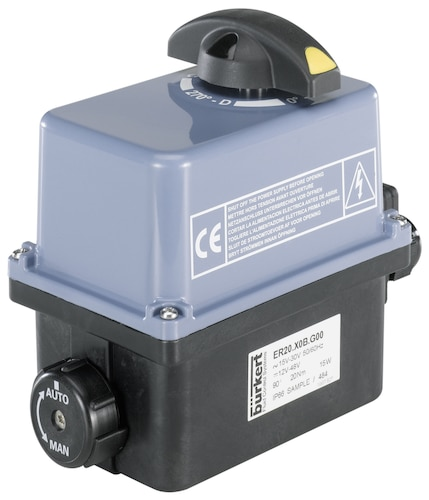 Electrical Rotary Actuator - On/Off and control