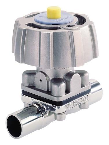 Type 3233 manually operated 2 way diaphragm valve with stainless type 3233 manually operated 2 way diaphragm valve with stainless steel body ccuart Image collections